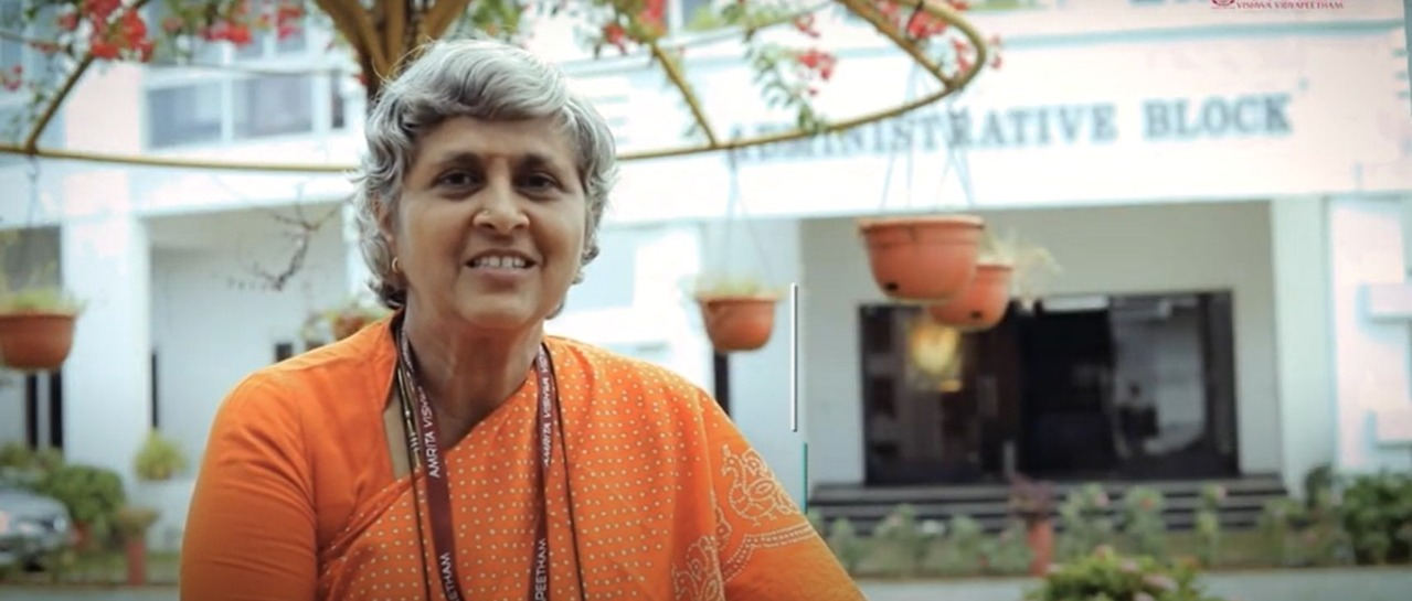 My Life My Amrita: Prof. Vinata Sai Ph.D., Amrita School of Engineering, Chennai
