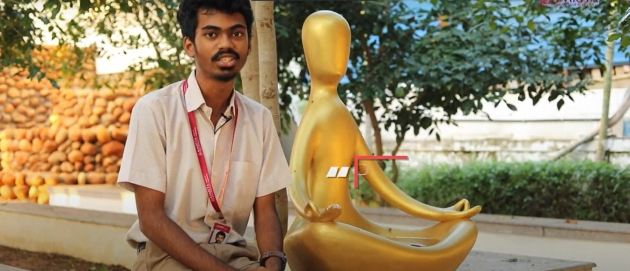 My Life My Amrita: Vishal, Class of 2023, Amrita School of Engineering, Chennai