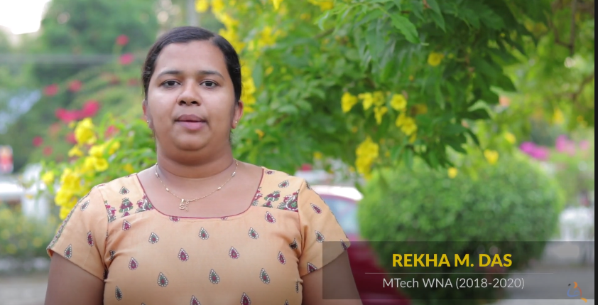 Rekha shares her experience on our MTech Programs