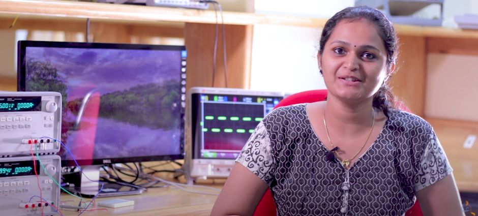 Shruthi N, Alumna talks about Amrita Center for Wireless Networks and Applications