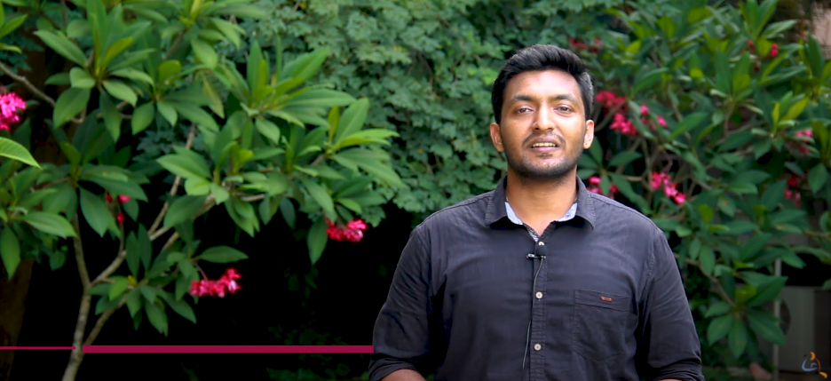 Ruthesh, Masters Student talks about Amrita Center for Wireless Networks and Applications
