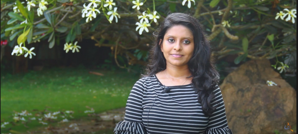 Aishwarya Lakshmi, Masters Student talks about Amrita Center for Wireless Networks and Applications