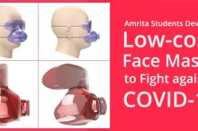 Amrita BTech Students Develop Low-cost Face Masks to Fight COVID-19