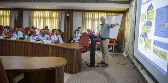 Amrita-TU Delft Workshop Held at Amritapuri