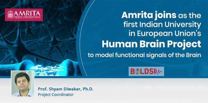 Amrita Becomes the First Indian University to Partner with European Union's Human Brain Project