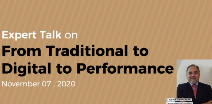 Expert Talk: From Traditional to Digital to Performance