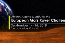 Amrita Students Qualify for the European Mars Rover Challenge