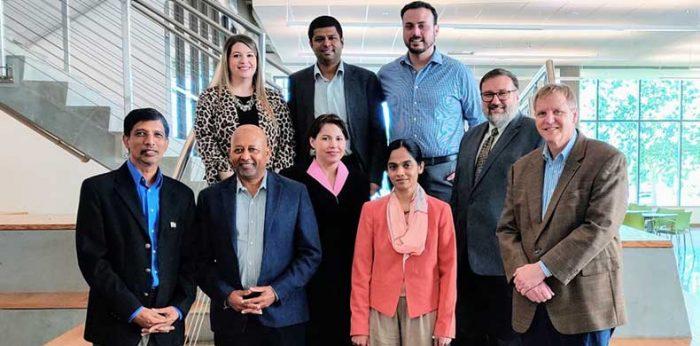 Amrita Delegates Visit University of Texas at Dallas