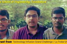 Amrita Students Win Technology Infusion Grand Challenge Grant