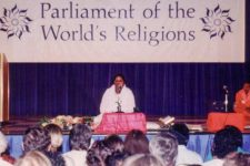 Chancellor Amma Addresses the Parliament of World's Religions