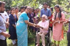 Department of Management, Kochi Takes Up Plant a Sapling initiative