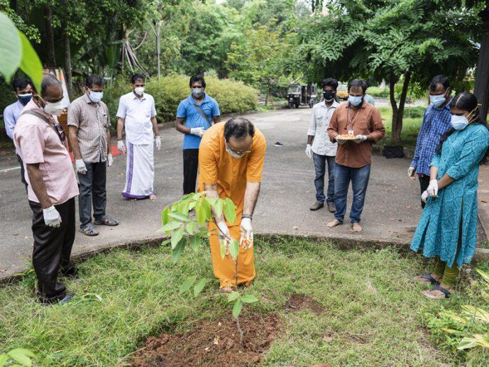 Reimagine, Recreate, Restore – Celebrating World Environment Day at Amritapuri Campus