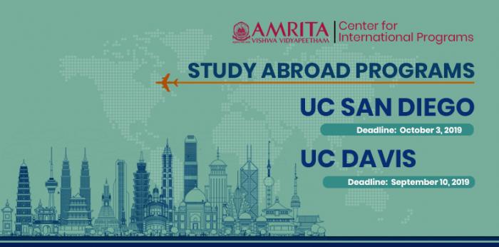 Study Abroad Programs – UC Davis and UC San Diego